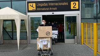 Sinopharm's vaccine testing samples arrive in Peru