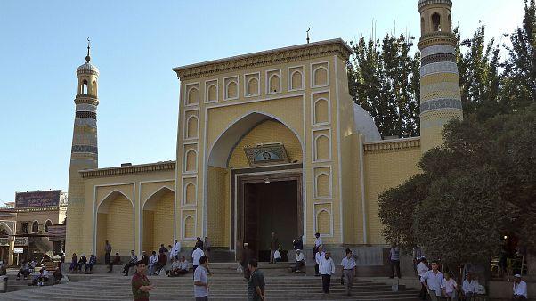 Kaşgar'da bulunan bir cami