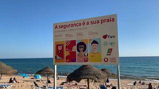 Praia em Faro, Algarve