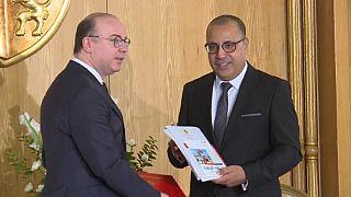 PM Handover Ceremony in Tunisia