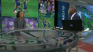 Wendie Renard discusses Lyon's record success with Euronews presenter Tokunbo Salako.