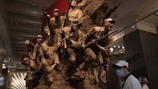 Памятник в музее японо-китайской войны