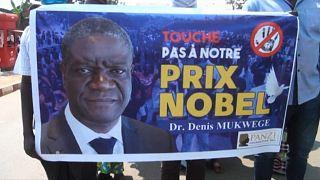 RDC: marche de soutien au Dr Mukwege, prix Nobel menacé de mort