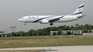 طائرة بوينج 737-800 من شركة طيران العال الإسرائيلية، 26 يوليو 2005