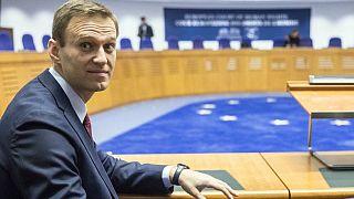 آرشیو. الکسی ناوالنی در دیوان حقوق بشر اروپا در سال ۲۰۱۸