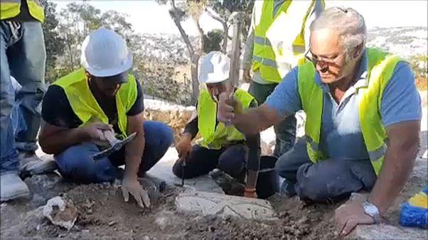 Rendkívüli régészeti lelet Jeruzsálemben