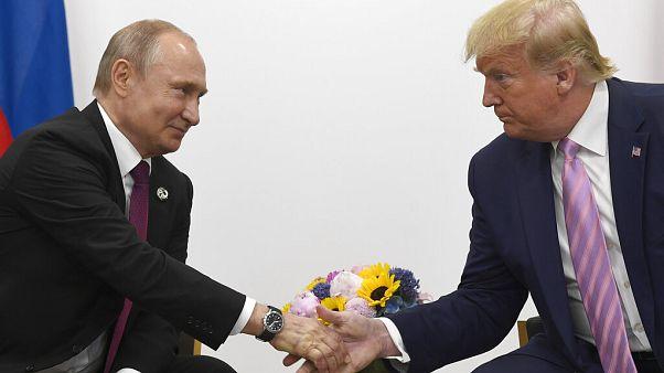 Πούτιν, Τραμπ