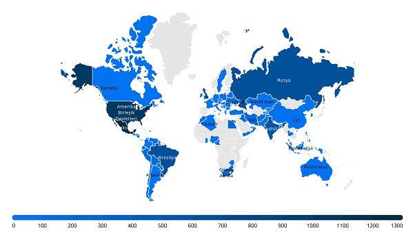 Covid-19 nedeniyle dünya genelinde hayatını kaybeden sağlık çalışanı sayısı