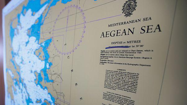 Ege Denizi haritası/Arşiv