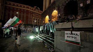 اعتراض و خشونت در بلغارستان