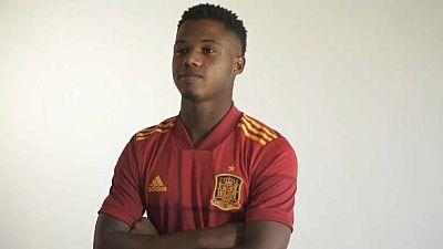 Ansu Fati, l'enfant prodige de Guinée-Bissau entre dans l'histoire du football espagnol
