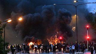 تظاهرات ضد اسلام در مالمو سوئد