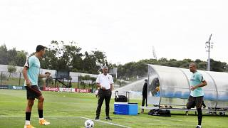 Ronaldo, Fernando Santos e Pepe