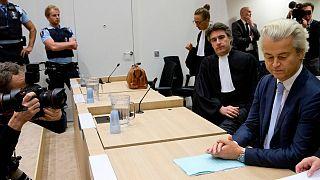 خیرت ویلدرش، نماینده اسلام ستیز و رهبر حزب راست افراطی هلند در دادگاه تجدید نظر