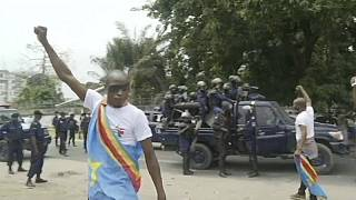 Police Clash Violently with Protesters in DRC