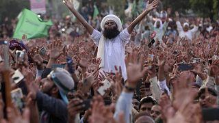 مظاهرات في باكستان مناهضة لفرنسا