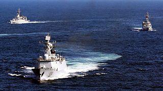 تمرین نیروی دریایی چین