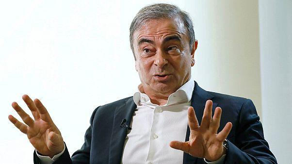 Nissan ve Renault'nun eski tepe yöneticisi Carlos Ghosn