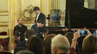 Omar Harfouch auf dem Konzert für Beirut