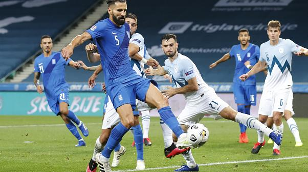 Nations League, Greece v Slovenia