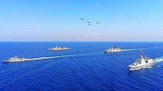 تنش در شرق دریای مدیترانه