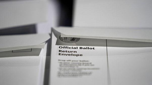 Começou voto por correspondência nos EUA