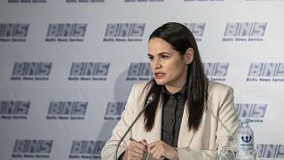 Belaruslu muhalif lider Svetlana Tikhanovskaya