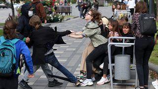 احتجاجات في بيلاروسيا