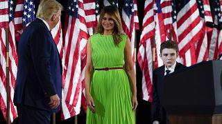 سيّدة الولايات المتحدة الأولى ميلانيا ترامب