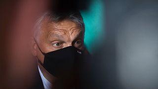 Orbán Viktor miniszterelnök a V4-ek júniusi csúcsértekezletén, Csehországban