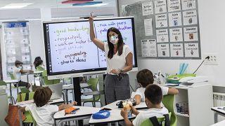 Schulunterricht in Spanien (Symbolfoto)