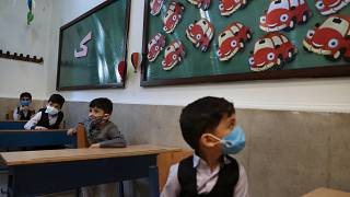 آغاز سال تحصیلی ایران، مدرسه هشترودی در تهران