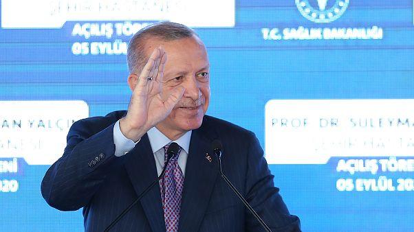 Erdoğan: Türkiye, adil olması şartıyla her paylaşımı yapmaya hazır