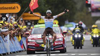 Tour de France: успех Нанса Петерса