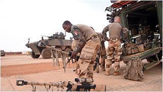 من القوات الفرنسية في مالي