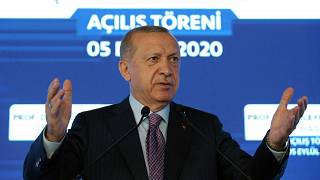 Erdogan on Saturday warned Greece to enter talks over disputed eastern Mediterranean territorial claims or face the consequences.