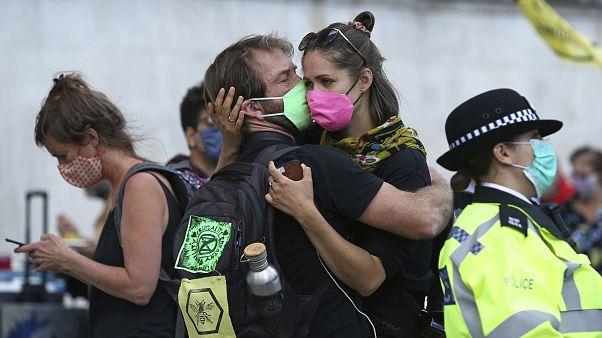 Extinction Rebellion regressa às ruas da Europa