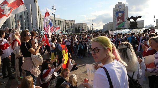 Frauendemo in Minsk am 5.9.2020