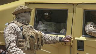 Militares franceses mortos no Mali