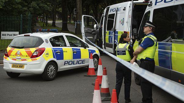 سيارة تابعة للشرطة البريطانية