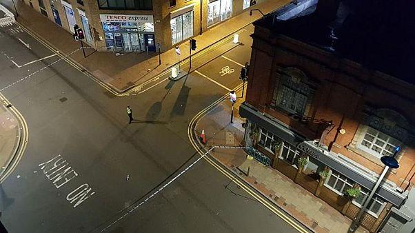 Rendőrségi kordont állítottak fel Birmingham központjában
