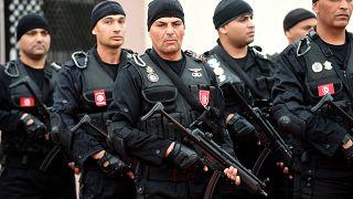 عناصر من القوات الخاصة التونسية (أرشيف)