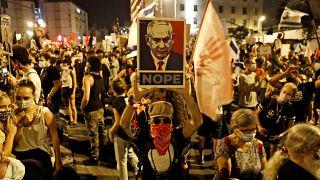 İsrail'de hükümet karşıtı eylemler