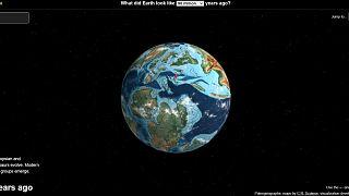 Ian Webster'ın internet haritasına göre İstanbul'un 90 milyon yıl önceki yeri