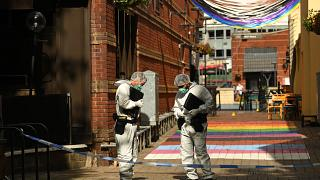 Scène de crime à Birmingham le 06 septembre 2020