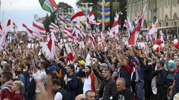 من مظاهرات مينسك ضدّ ألكساندر لوكاشنكو