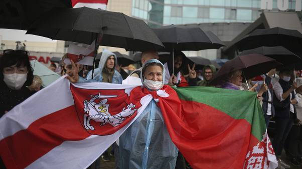 Quinto domingo de protestos na Bielorrússia