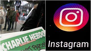 إنستغرام يحظر حساب صحفيتين بشارلي إيبدو لساعات