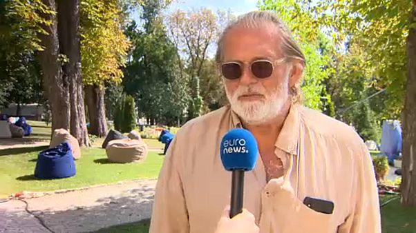 Kovács Gábor producer nyilatkozik az Euronewsnak
