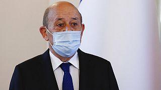 Ο Γάλλος υπουργός Εξωτερικών, Ζαν Ιβ Λεντριάν